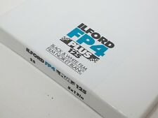 "Ilford 5 x 12"" FP4 Plus Black & White FILM ISO125. 25 shts. Cat #1142118. SEALED"