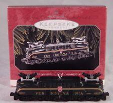 Pennsylvania GG-1 Locomotive Lionel Miniature Train 1998 Hallmark Ornament