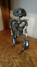 Scrap Metal Art Welded alien creature Sculpture Robot Steam Punk