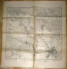 Groß Strehlitz Schlesien Karte Preußen Landesaufnahme 1914 Strzelce Opolski