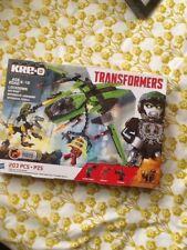 Transformers KRE-O Lockdown Air Raid Set Hasbro utiliser avec LEGO etc