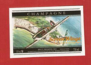THIEL DOUDOU   étiquette BD  champagne Vautrain  Cuvée Festival.BD LIGUGE 2017