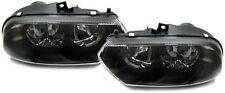 2 OPTIQUE AVANT BLACK GLACE LISSE ALFAROMEO 156 BREAK 2,4 JTD 163 09/1997-09/200