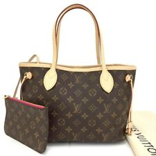 New 2020 Louis Vuitton Monogram Neverfull PM Tote Hand Bag w/Pouch / 3HA1