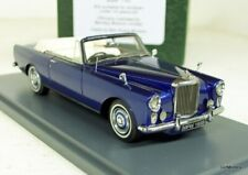 Neo 1/43 Scale - 44155 Bentley SII Mulliner Park Ward DHC Blue Resin Model Car
