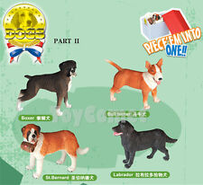 Set of 4 Dogs Animal Part II 4D 3D Puzzle Model Kit Educational Toy