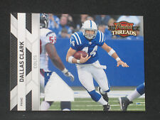 Dallas Clark 2010 Panini Threads Prime Patch (36/50) Indianapolis Colts Jersey