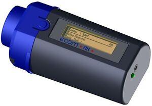 ecom-AK Auslesekopf zum Auslesen von Daten aus Feuerungsautomaten