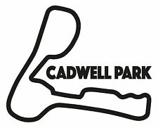 Circuito di CADWELL PARK Race. AUTO ADESIVO VINILE f1 di BRITISH GRAND PRIX FORMULA UNO
