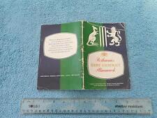ROTHMANS TEST CRICKET ALMANACK 1961 AUSTRALIA THE ASHES