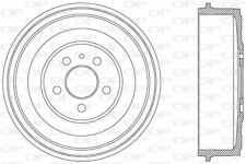 TAMBOUR DE FREIN POUR PEUGEOT EXPERT CAMIONNETTE 2.0 HDI,806 2.0 HDI,2.0 HDI 16V