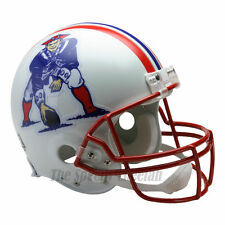 NEW ENGLAND PATRIOTS 90-92 THROWBACK NFL AUTHENTIC FOOTBALL HELMET