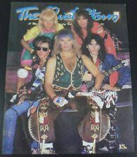 1988 Van Halen David Lee Roth U2 Michael Jackson Michael Douglas Book Rare!
