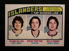 1976 76-77 OPC Top Scoring Line (216) N.Y. Islanders with Trottier RC NM-MINT++