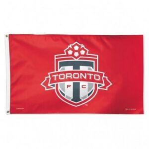 TORONTO FC DELUXE PREMIUM 3x5 ft FLAG OFFICIALLY LICENSED SHIPS FROM CANADA