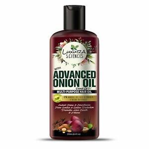 Luxura Sciences Advanced Onion Hair Oil For Hair Growth Multi Purpose Oil 250 ml