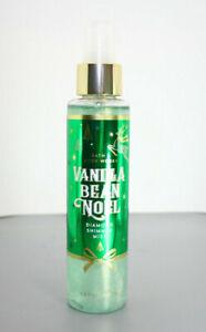 Bath & Body Works Vanilla Bean Noel Diamond Shimmer Mist 5oz - Fast US Shipping