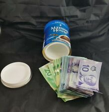 Diversion Safe Maxwell House Coffee Can Hidden Stash Jewelry Box Piggy Bank NOS