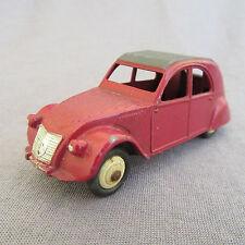 332E Vintage Dinky 24T Citroën 2cv Bordeaux 1:43
