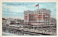 Atlantic City New Jersey 1923 Postcard The Chalfonte Hotel Boardwalk Beach