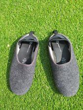 Mahabis classic ladies slippers in dark grey size 6