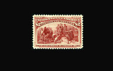 US Stamp Mint, OG, XF S#241 Very very lightly hinged, looks never hinged to most