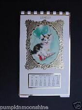 Scarce 1969 Marjorie M. Cooper Kitten Calendar by Gibson, Stunningly Beautiful