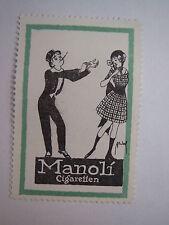 Manoli Cigaretten - Zigaretten / Reklamemarke