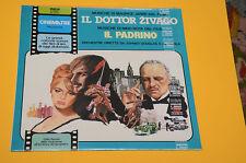 LP COLONNA SONORA DOTTOR ZIVAGO IL PADRINO ITALY 1980 SIGILLATO SEALED