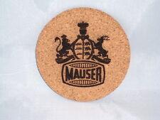"Mauser Coasters Set of 4 - CORK 4"""