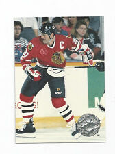 Dirk Graham Blackhawks 1991-1992  Pro Set Platinum #23