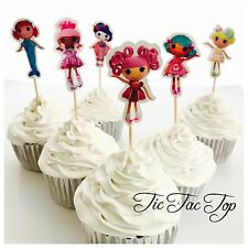 12x Lalaloopsy Doll Party Cupcake Topper Pick. Party Supplies Lolly Loot Bag