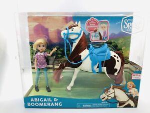 Dreamworks Spirit Riding Free Abigail & Boomerang Horse Doll Sets