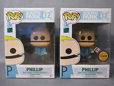 "POP South Park 12 ""PHILIP"" + Chase Edition Vinyl Figure Funko TV Animation"