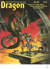 TSR AD&D Dungeons & Dragon Magazine #72 File 13 Cavalier Gems Barbarians!