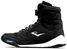 Everlast New Elite Men Black/Red/Blue Suede/Mesh w/Rubber Sole Boxing Shoes US 9