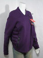 NIKE Tech Fleece Down Aeroloft Moto Women's Lightweight Jacket Purple size XL