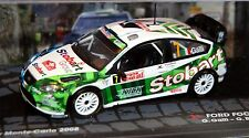 1/43 IXO Rally Collection Ford Focus RS WRC #7 Monte Carlo 2008