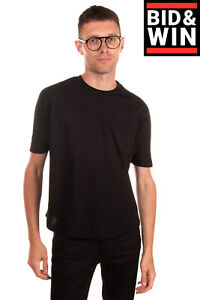 RRP €235 BAD SPIRIT By MASSIMO SABBADIN T-Shirt Top Size S Rhinestoned Back