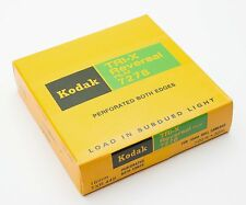 Kodak Tri-X Reversal Film 16mm 7278 Movie Camera 100' Roll B&W Motion Picture