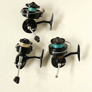 Lot of 3 Vintage Fishing Spinning Reels Garcia Mitchell 304 & 308