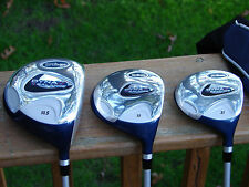 NEW WILSON DYNABALANCE COMPLETE GOLF CLUBS SET WOODS, HYBRID, IRONS, PUTTER, BAG