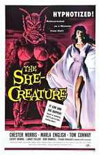 She Creature Poster 01 Metal Sign A4 12x8 ALuminium
