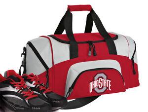 SMALL Ohio State University GYM BAG OSU Buckeyes Duffel Bags Overnight Bag