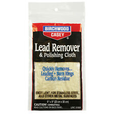Birchwood Casey Lead Remover and Polishing Cloth for Restoring Guns