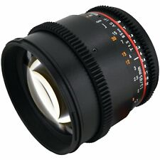Rokinon 85mm T1.5 Cine Lens for Sony E- CV85M-NEX
