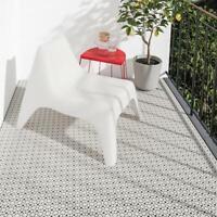 Bodenrost Bodenbelag Universal Steckfliese Garten Theke Balkon hellgrau IKEA