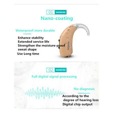 Model Siemens new hearing Aid mode fast p bte with dehumidifier