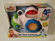 LITTLE LEARNER™ MY FIRST CAMERA W/LIGHTS, SOUNDS, PICS, MELODIES ~ BRAND NEW!