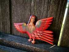 Handicraft home decor, Sirin bird handmade Wood wall hanging